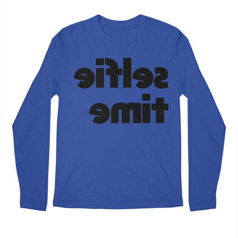 Selfie Time! Men's Regular Longsleeve T-Shirt by denisegraphiste's Artist Shop