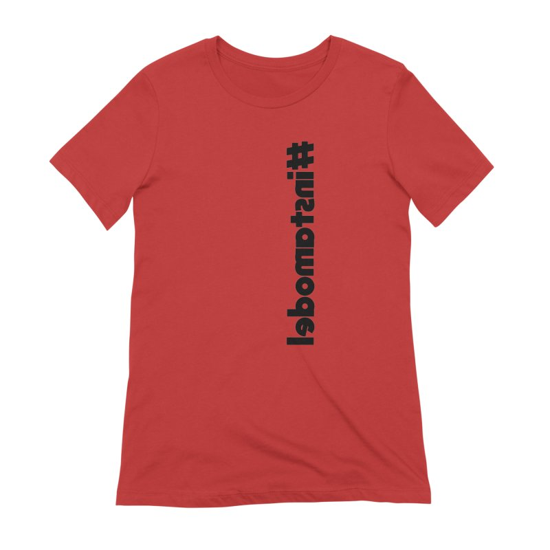 Hashtag Instamodel Women's Extra Soft T-Shirt by denisegraphiste's Artist Shop