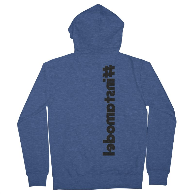 Hashtag Instamodel Women's French Terry Zip-Up Hoody by denisegraphiste's Artist Shop