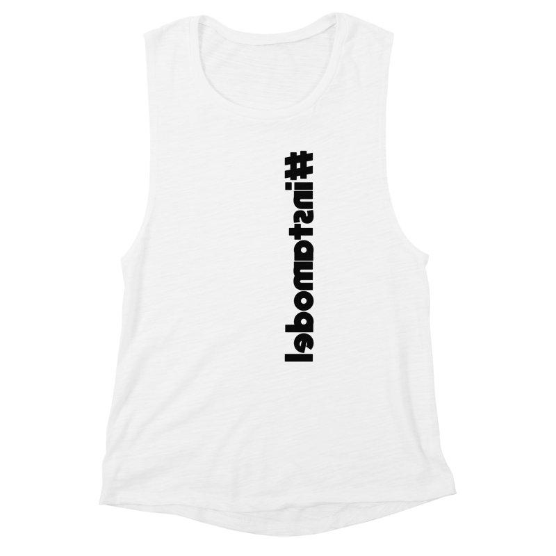 Hashtag Instamodel Women's Muscle Tank by denisegraphiste's Artist Shop
