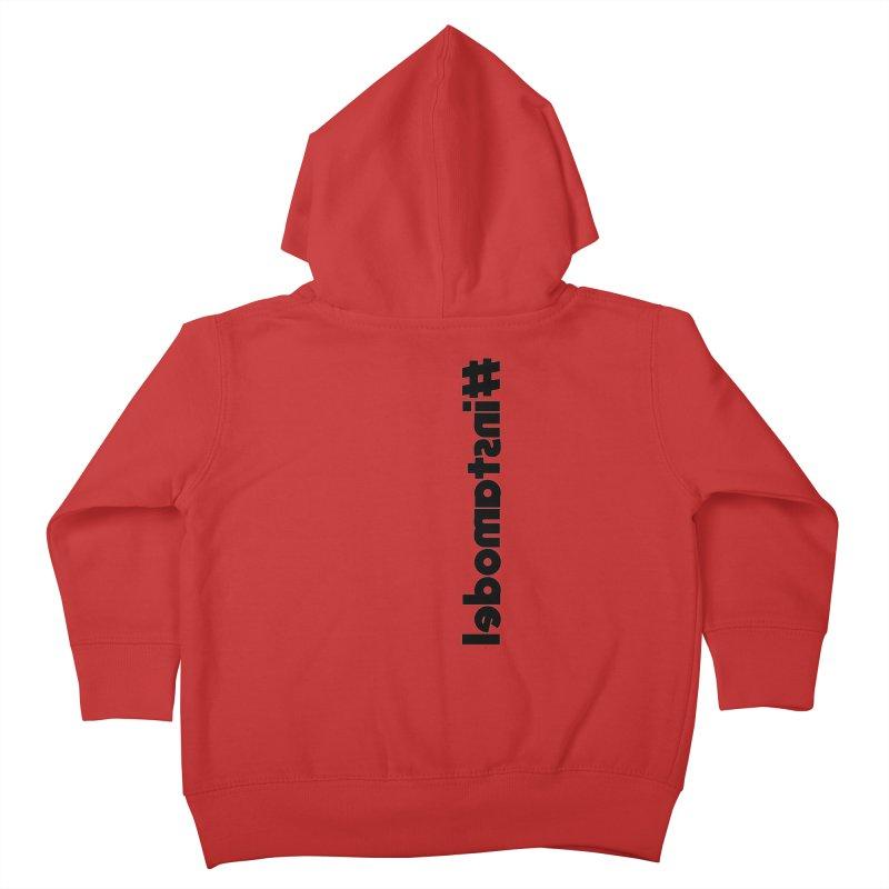 Hashtag Instamodel Kids Toddler Zip-Up Hoody by denisegraphiste's Artist Shop