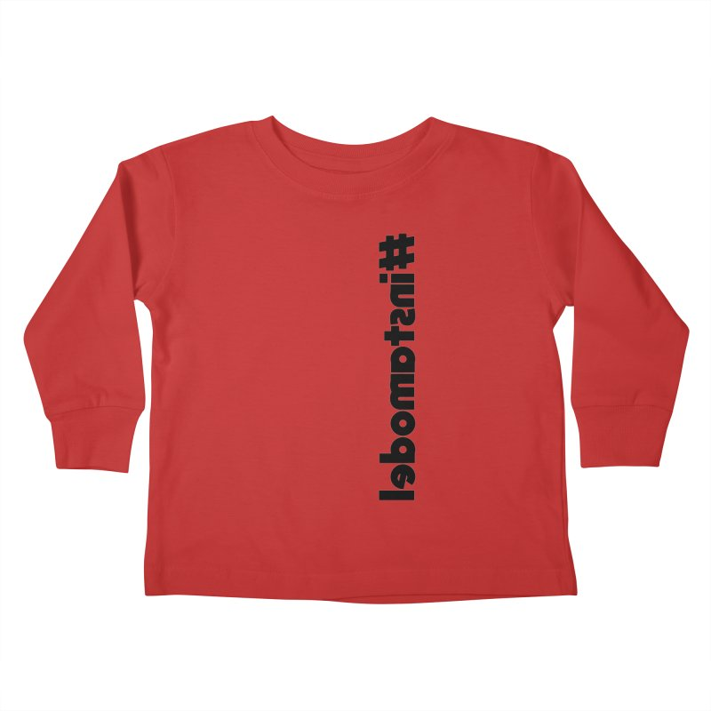 Hashtag Instamodel Kids Toddler Longsleeve T-Shirt by denisegraphiste's Artist Shop