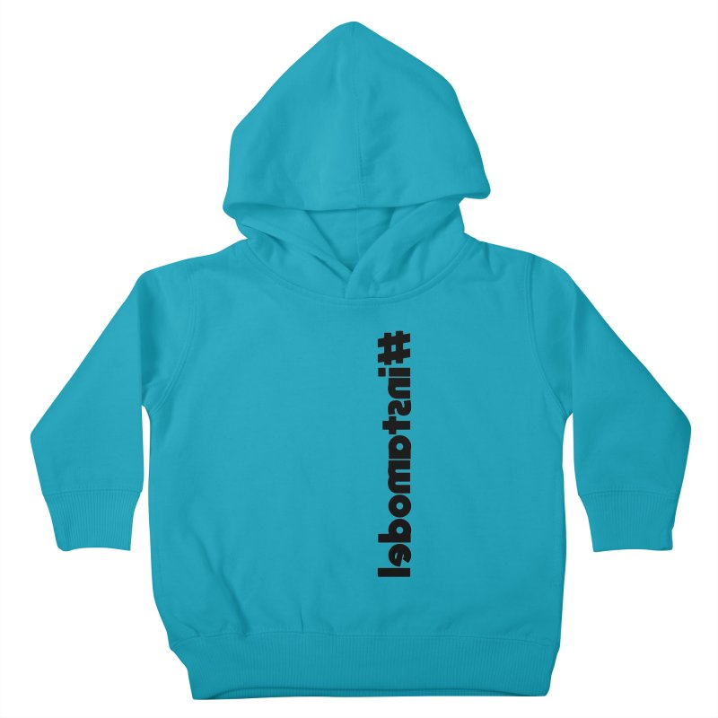 Hashtag Instamodel Kids Toddler Pullover Hoody by denisegraphiste's Artist Shop