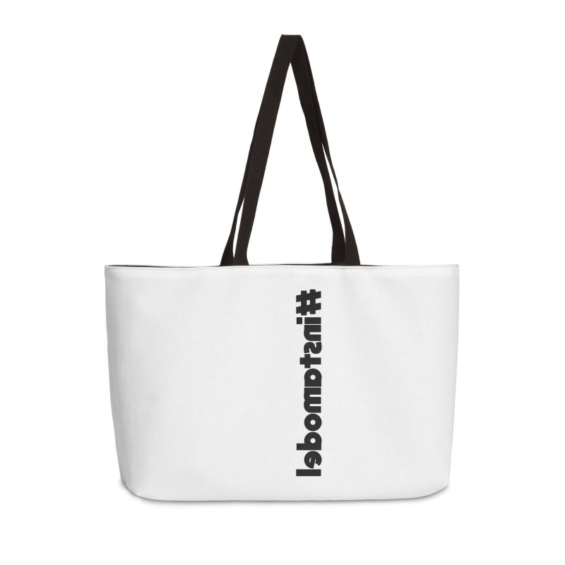 Hashtag Instamodel Accessories Weekender Bag Bag by denisegraphiste's Artist Shop