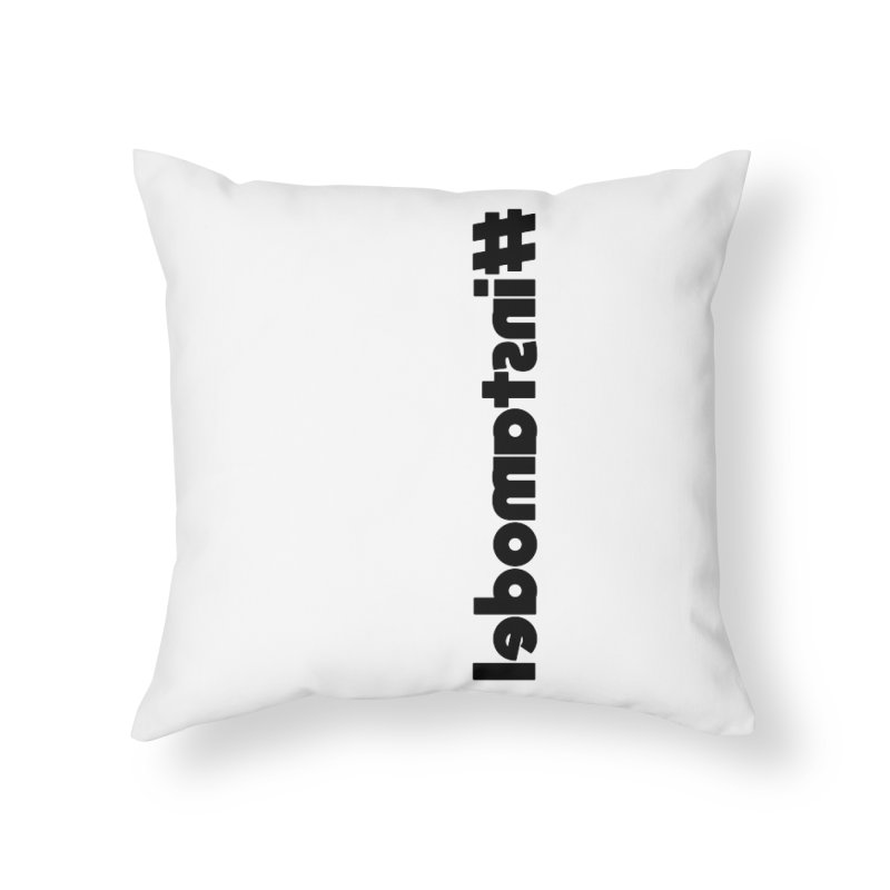 Hashtag Instamodel Home Throw Pillow by denisegraphiste's Artist Shop