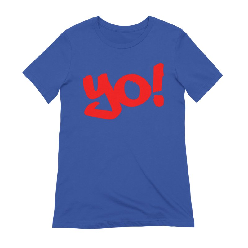 Yo! Philly Greeting Women's Extra Soft T-Shirt by denisegraphiste's Artist Shop