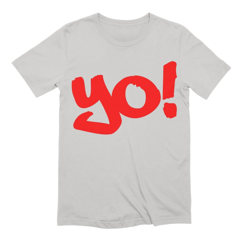 Yo! Philly Greeting Men's Extra Soft T-Shirt by denisegraphiste's Artist Shop