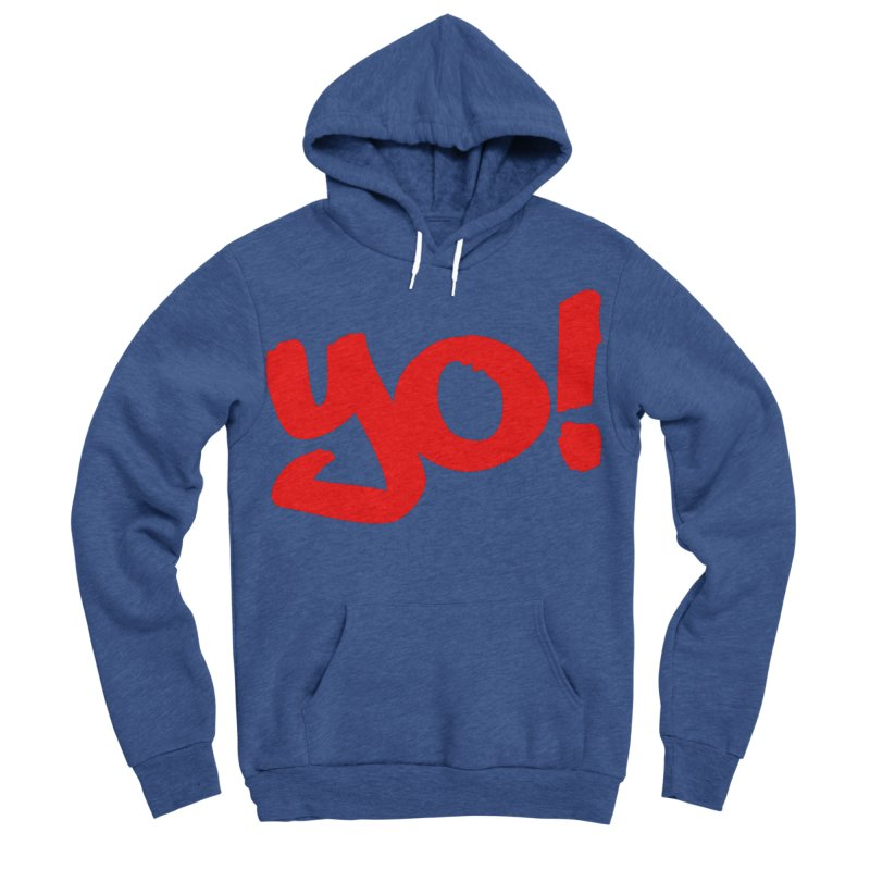 Yo! Philly Greeting Men's Sponge Fleece Pullover Hoody by denisegraphiste's Artist Shop