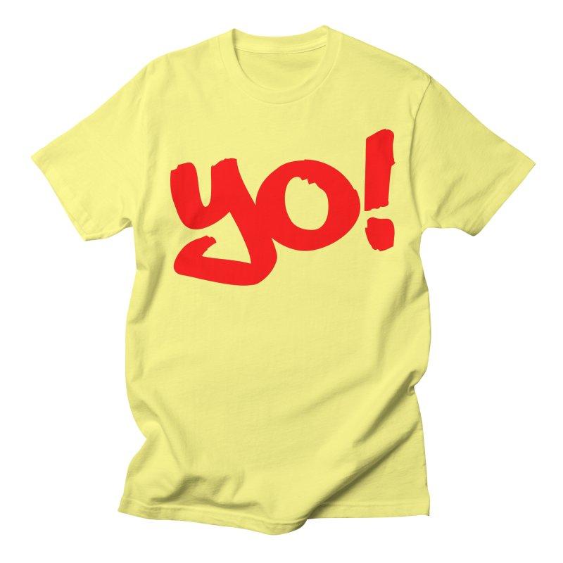 Yo! Philly Greeting Men's T-Shirt by denisegraphiste's Artist Shop