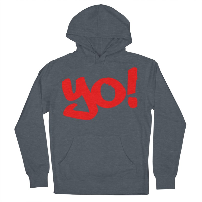 Yo! Philly Greeting Men's French Terry Pullover Hoody by denisegraphiste's Artist Shop