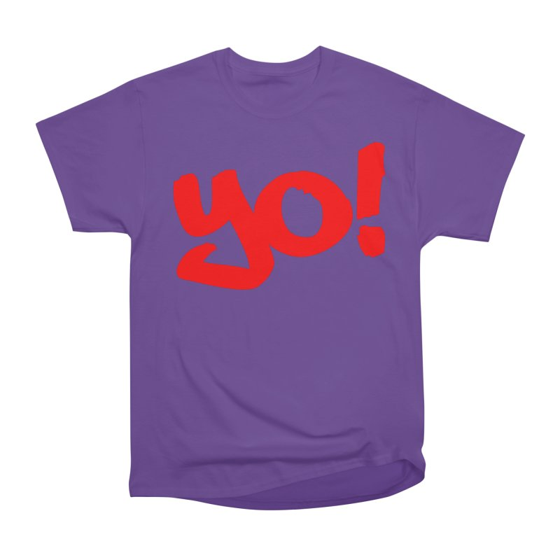 Yo! Philly Greeting Women's Heavyweight Unisex T-Shirt by denisegraphiste's Artist Shop