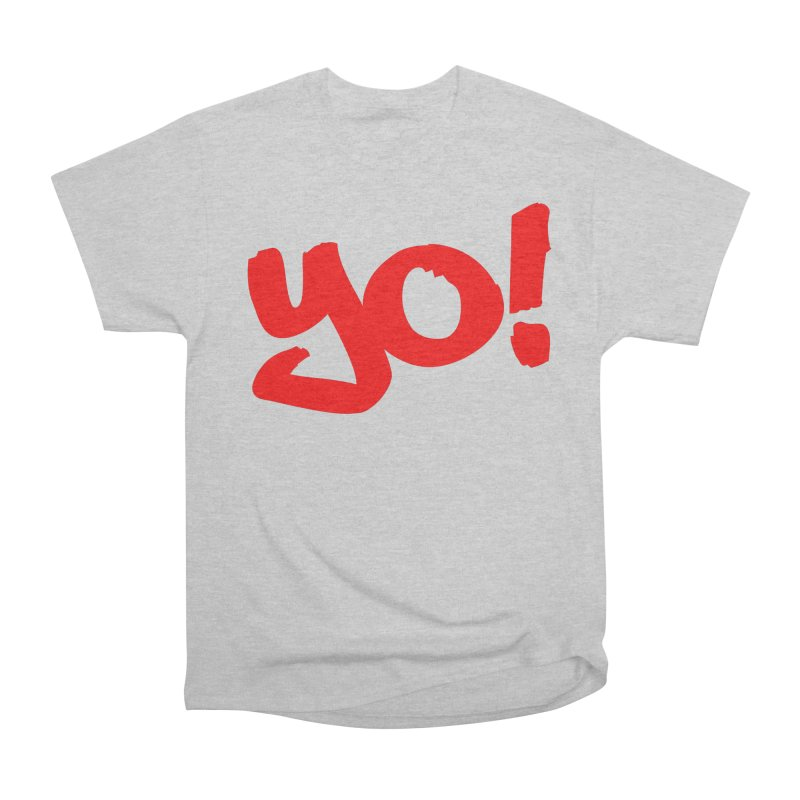 Yo! Philly Greeting Men's Heavyweight T-Shirt by denisegraphiste's Artist Shop