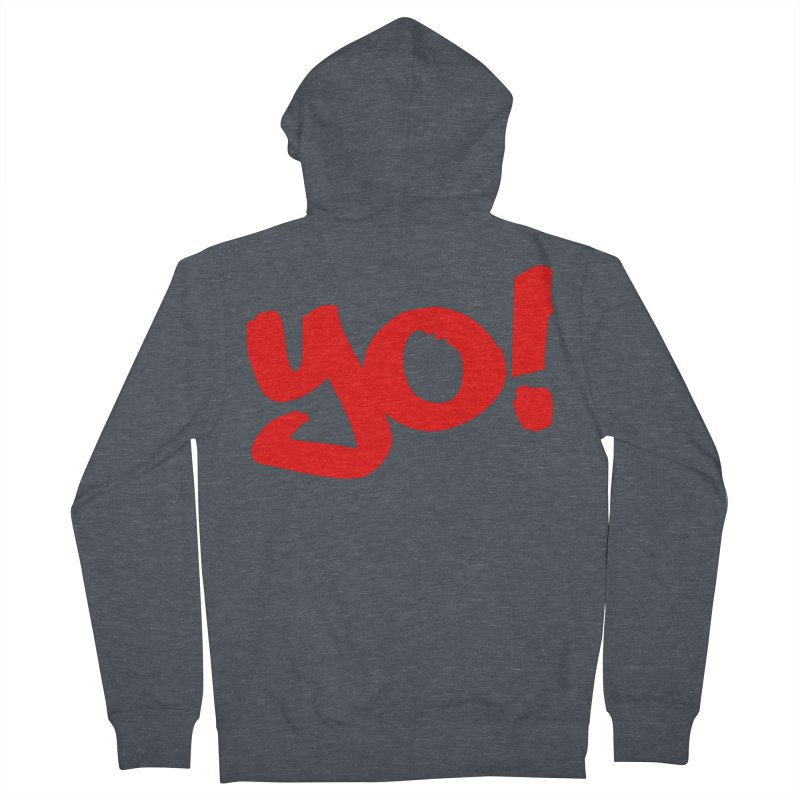 Yo! Philly Greeting Women's French Terry Zip-Up Hoody by denisegraphiste's Artist Shop