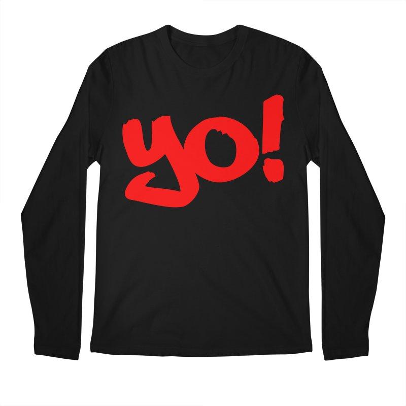 Yo! Philly Greeting Men's Regular Longsleeve T-Shirt by denisegraphiste's Artist Shop