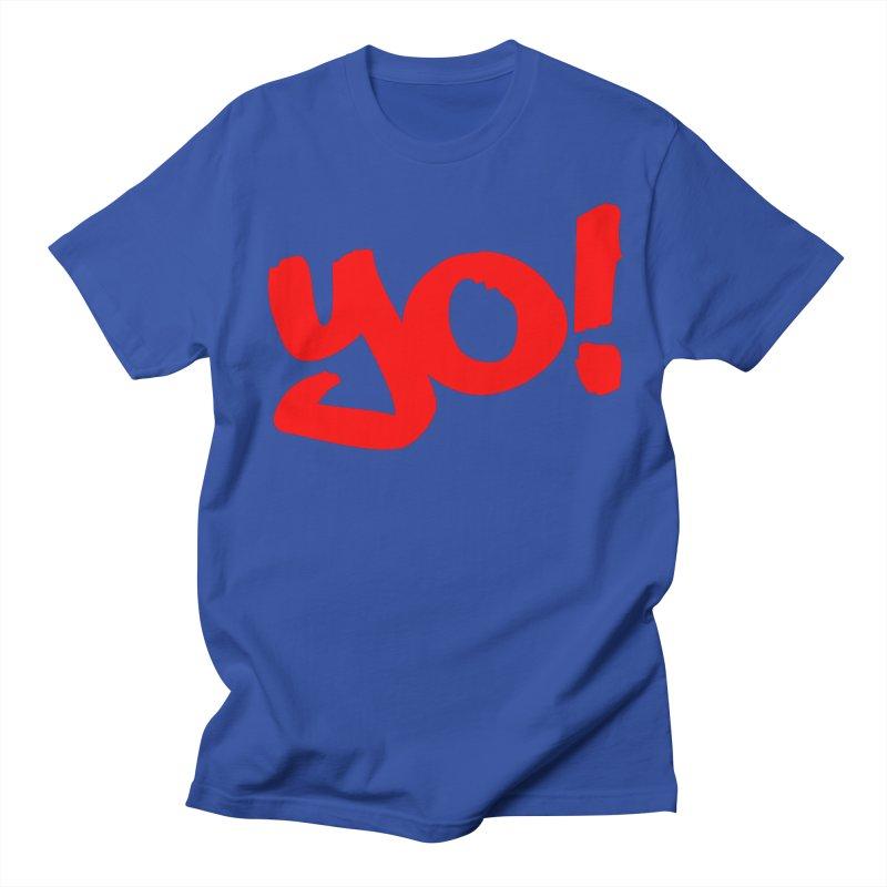 Yo! Philly Greeting Men's Regular T-Shirt by denisegraphiste's Artist Shop