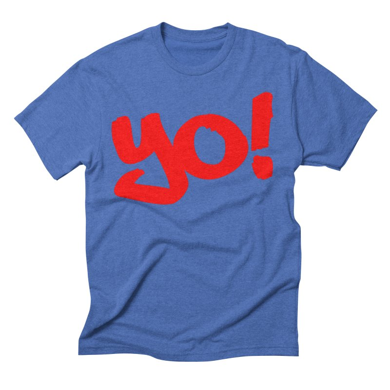 Yo! Philly Greeting Men's Triblend T-Shirt by denisegraphiste's Artist Shop