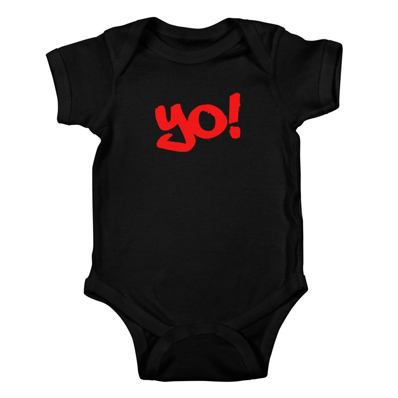 Yo! Philly Greeting Kids Baby Bodysuit by denisegraphiste's Artist Shop