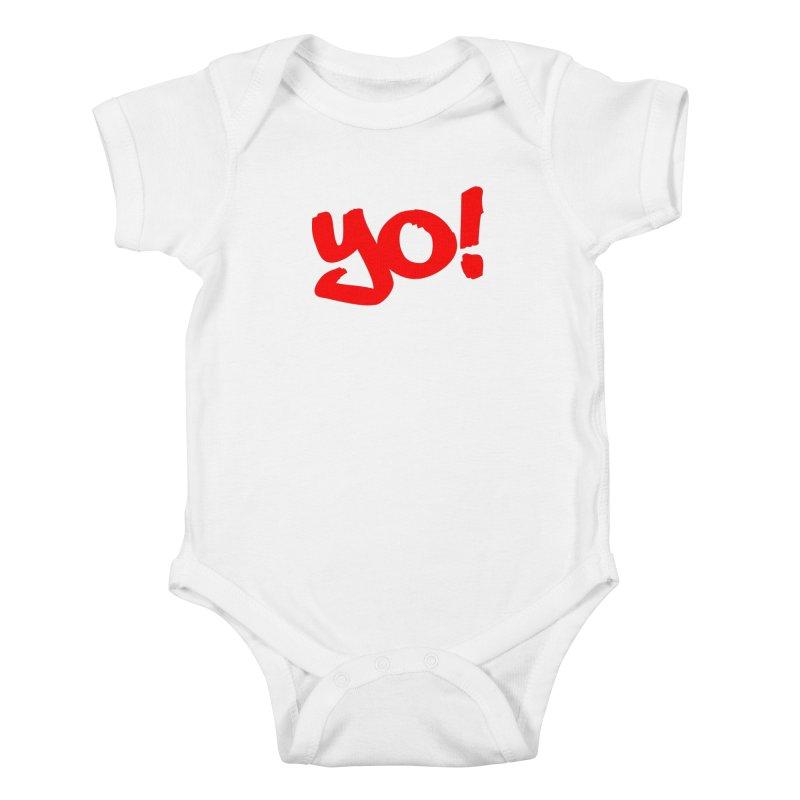Yo! Philly Greeting Kids Baby Bodysuit by denisegraphiste's Artist Shop