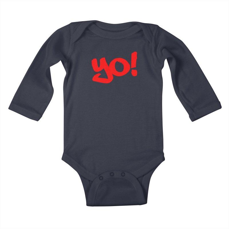 Yo! Philly Greeting Kids Baby Longsleeve Bodysuit by denisegraphiste's Artist Shop