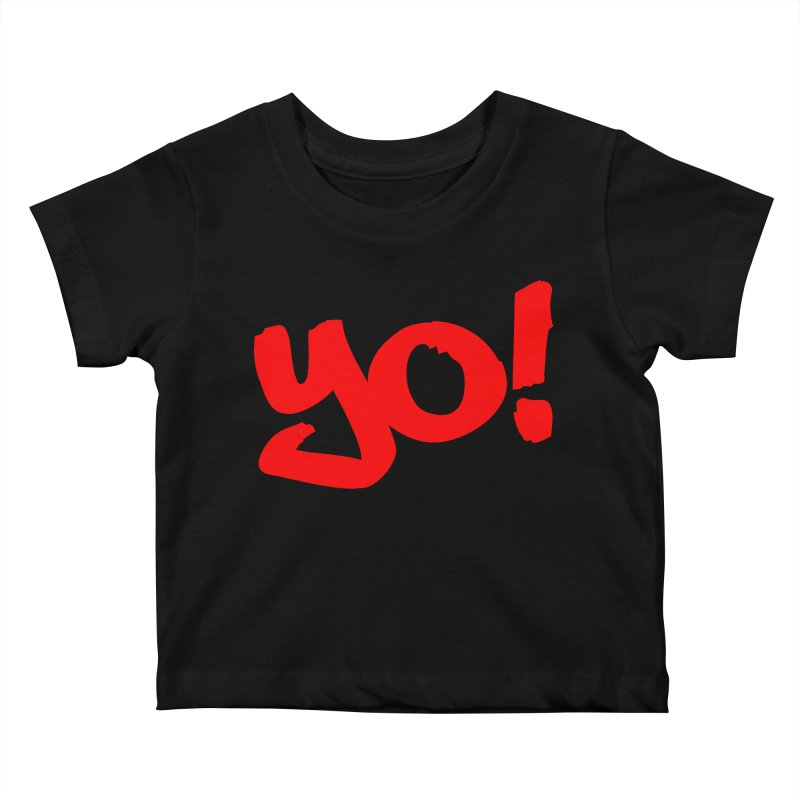 Yo! Philly Greeting Kids Baby T-Shirt by denisegraphiste's Artist Shop