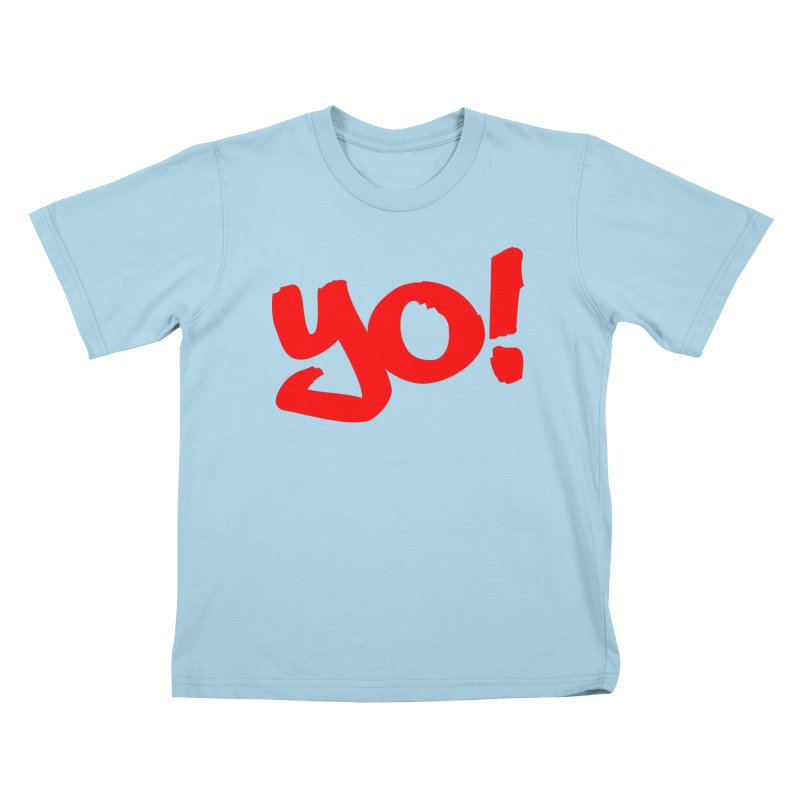 Yo! Philly Greeting Kids T-Shirt by denisegraphiste's Artist Shop