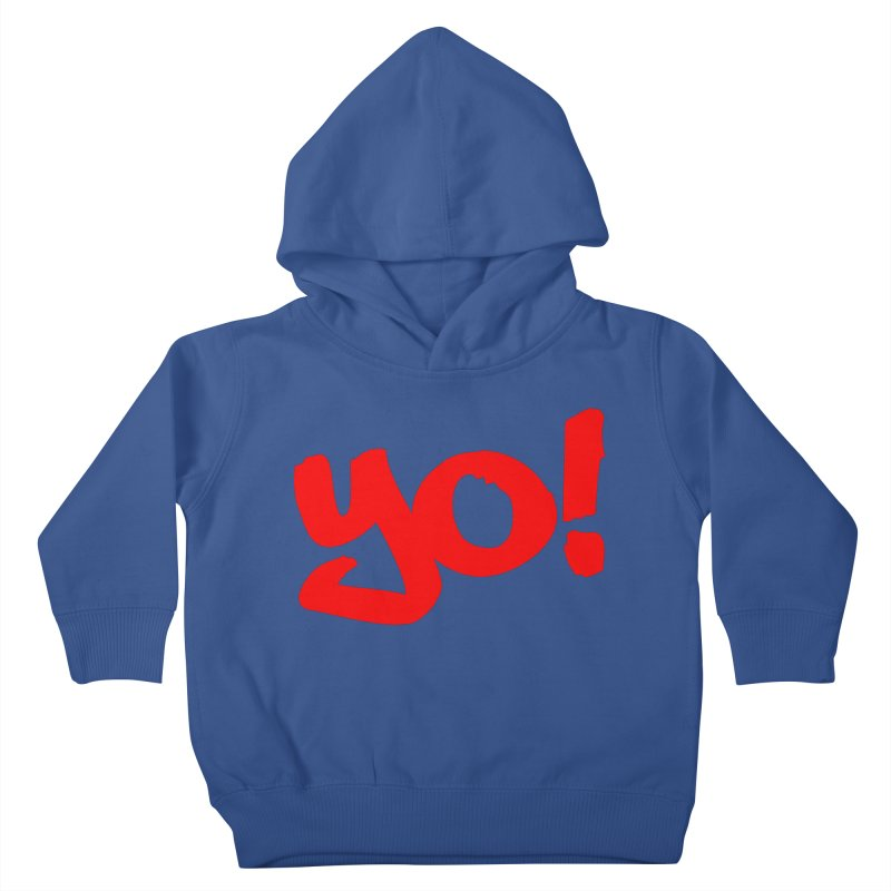 Yo! Philly Greeting Kids Toddler Pullover Hoody by denisegraphiste's Artist Shop