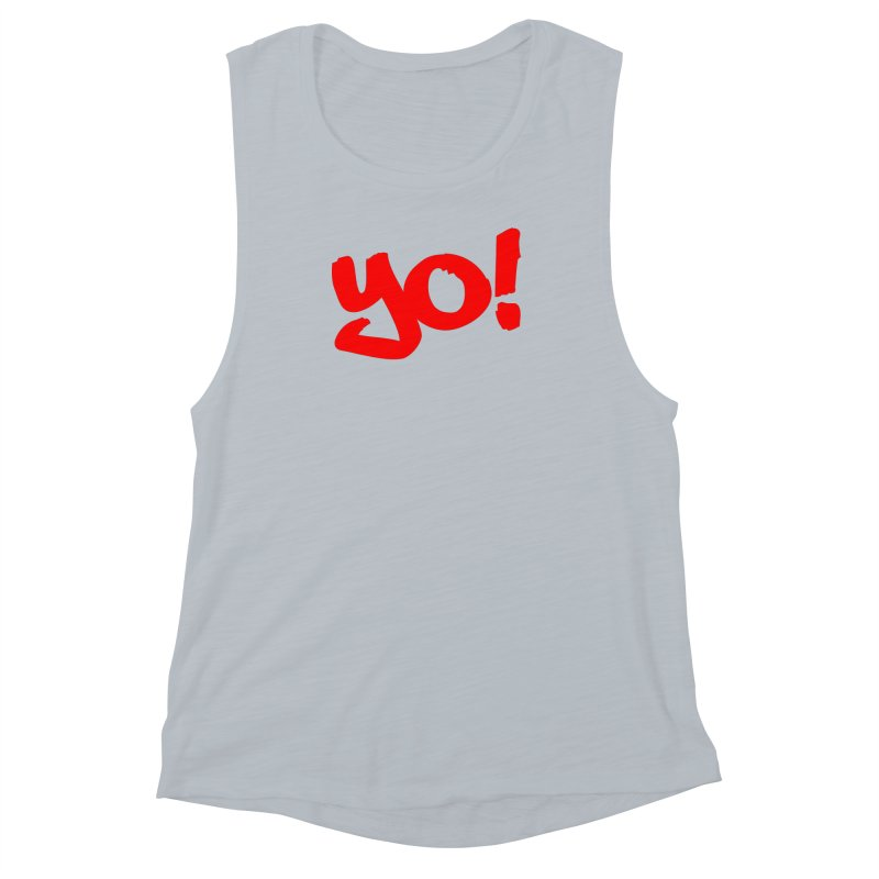 Yo! Philly Greeting Women's Muscle Tank by denisegraphiste's Artist Shop