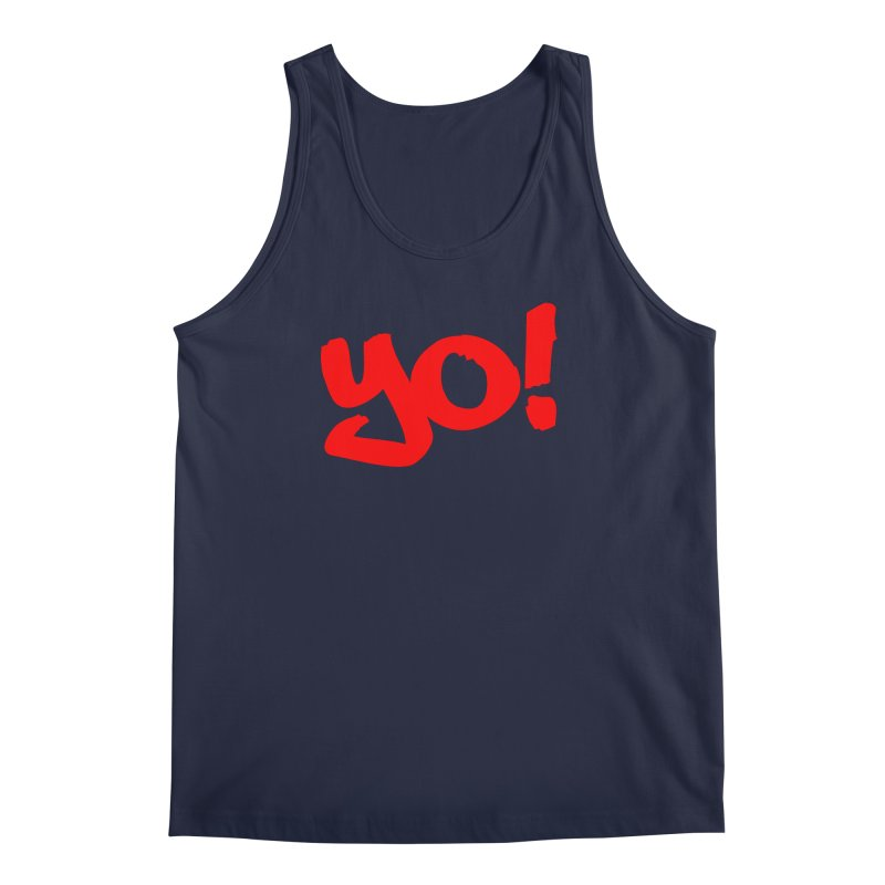 Yo! Philly Greeting Men's Regular Tank by denisegraphiste's Artist Shop