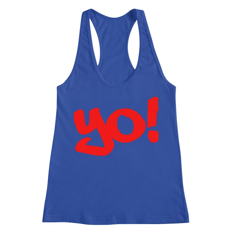 Yo! Philly Greeting Women's Racerback Tank by denisegraphiste's Artist Shop