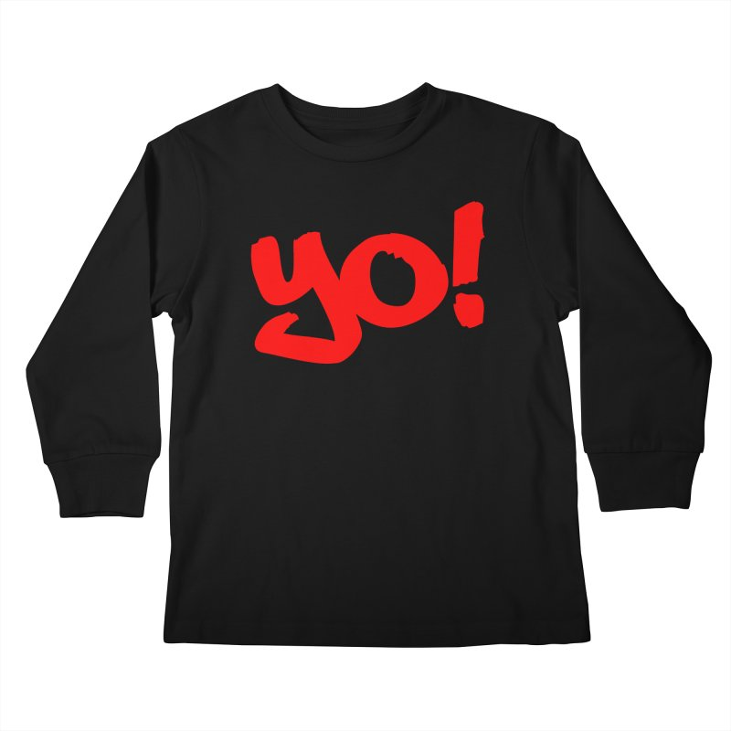 Yo! Philly Greeting Kids Longsleeve T-Shirt by denisegraphiste's Artist Shop