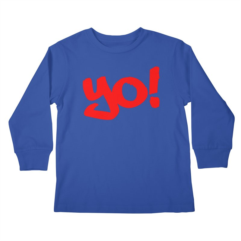 Yo! Philly Greeting Kids Longsleeve T-Shirt by denisegraphiste's Artist Shop
