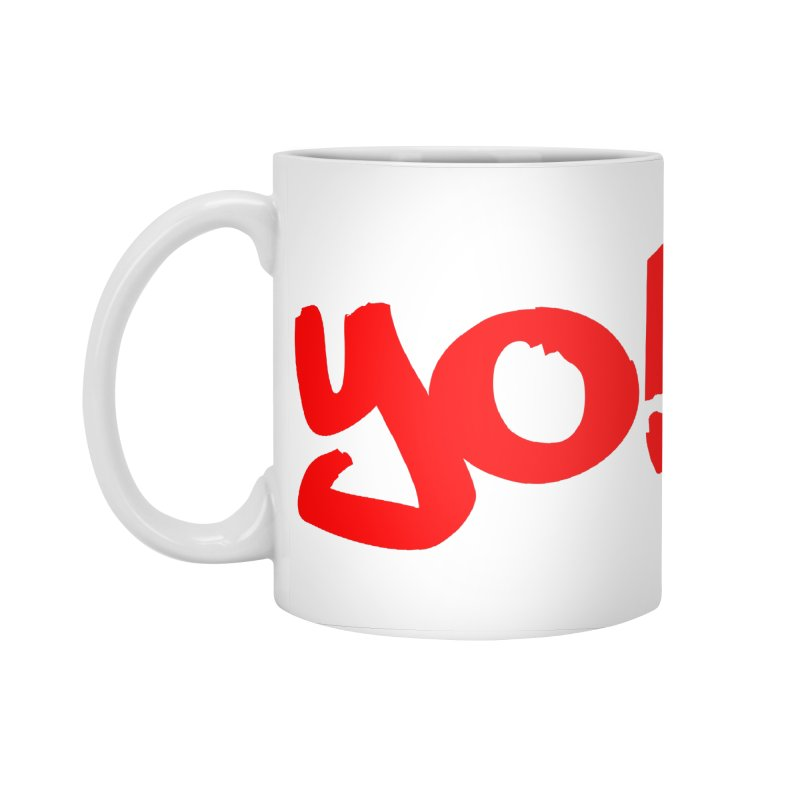 Yo! Philly Greeting Accessories Standard Mug by denisegraphiste's Artist Shop