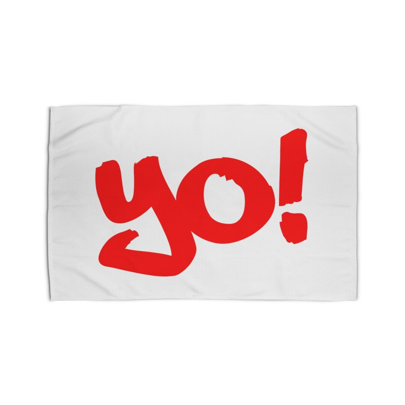 Yo! Philly Greeting Home Rug by denisegraphiste's Artist Shop