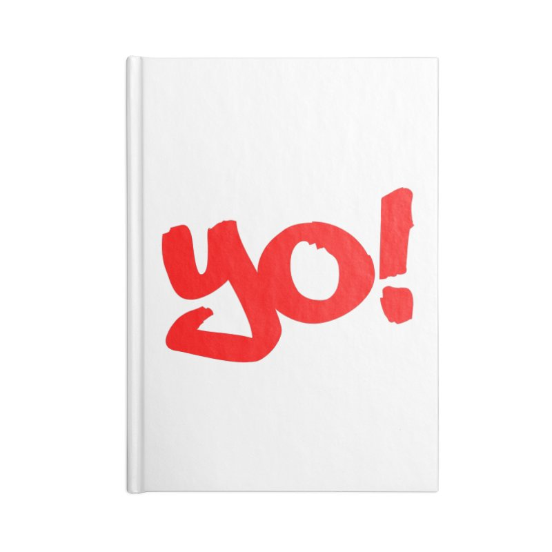 Yo! Philly Greeting Accessories Lined Journal Notebook by denisegraphiste's Artist Shop