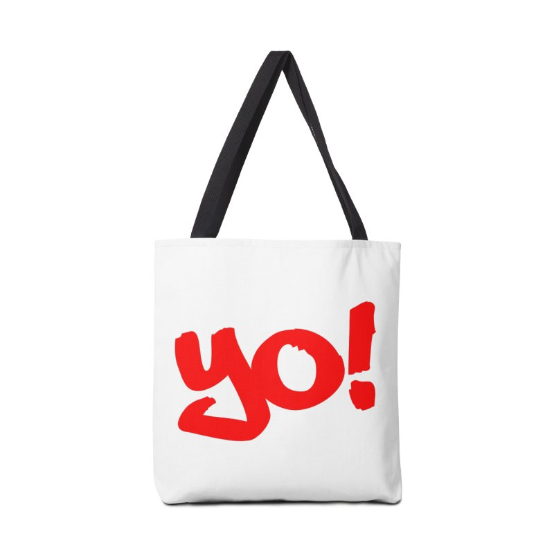 Yo! Philly Greeting Accessories Tote Bag Bag by denisegraphiste's Artist Shop