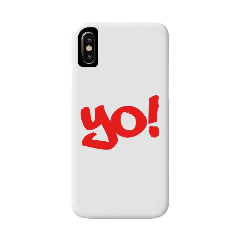 Yo! Philly Greeting Accessories Phone Case by denisegraphiste's Artist Shop