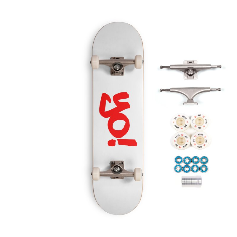 Yo! Philly Greeting Accessories Complete - Premium Skateboard by denisegraphiste's Artist Shop