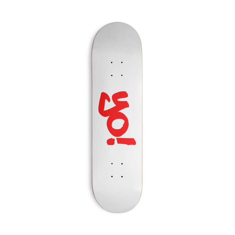 Yo! Philly Greeting Accessories Deck Only Skateboard by denisegraphiste's Artist Shop