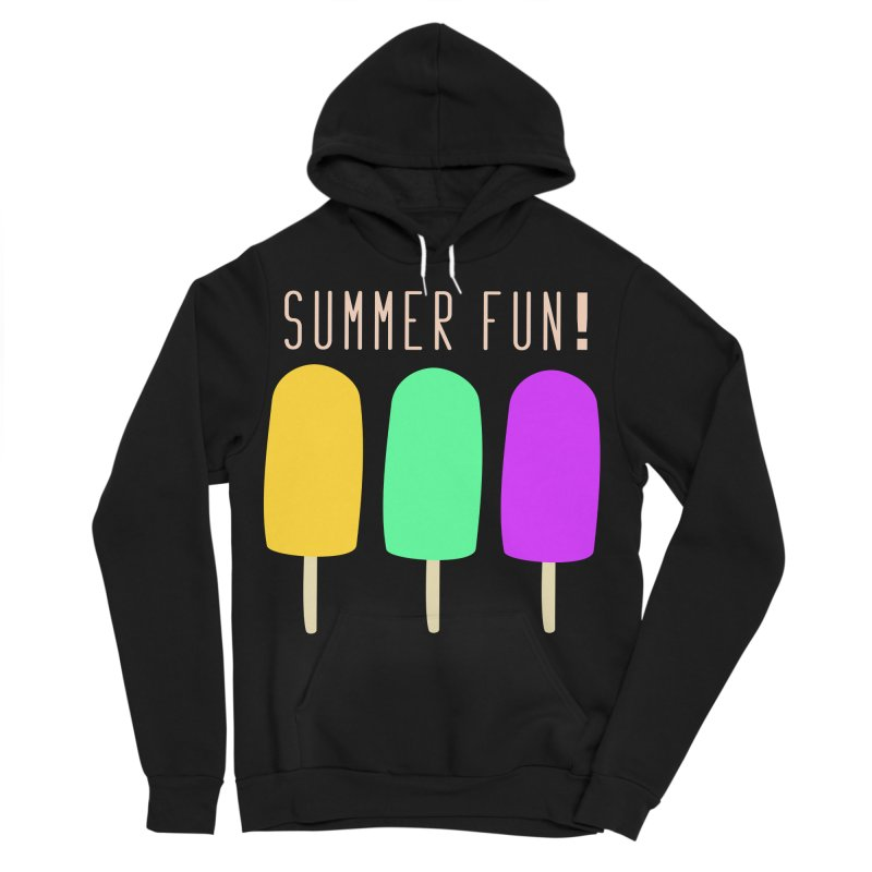 Summer Fun Popsicles Men's Sponge Fleece Pullover Hoody by denisegraphiste's Artist Shop