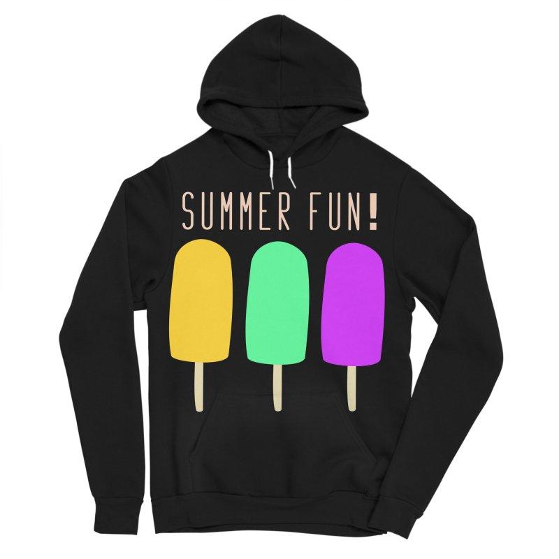 Summer Fun Popsicles Women's Sponge Fleece Pullover Hoody by denisegraphiste's Artist Shop