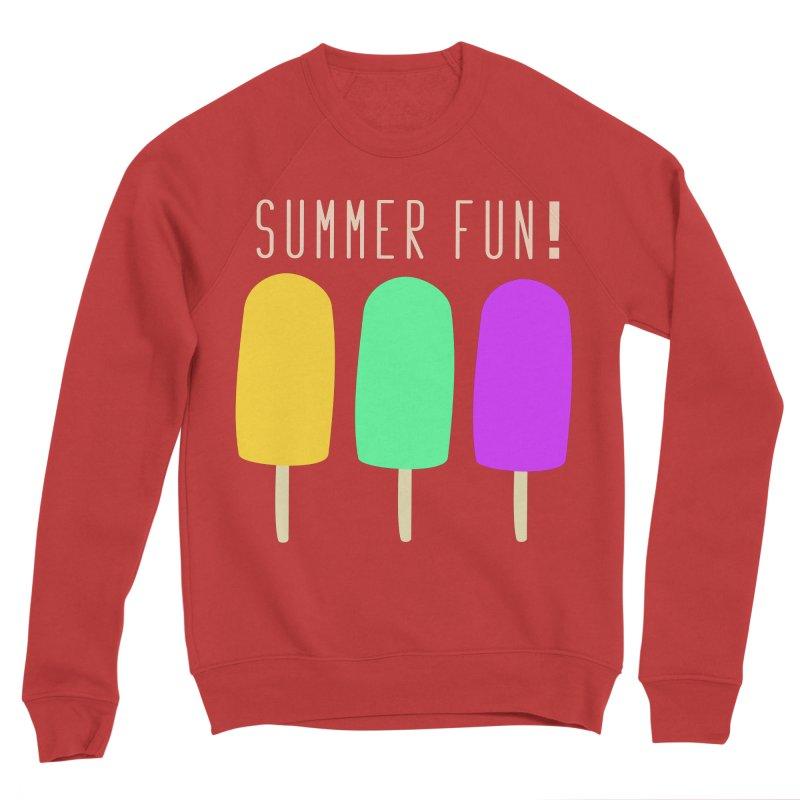 Summer Fun Popsicles Men's Sponge Fleece Sweatshirt by denisegraphiste's Artist Shop