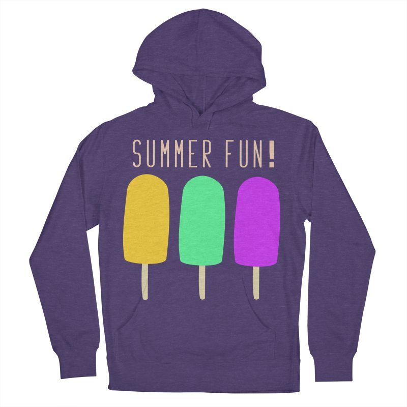 Summer Fun Popsicles Women's French Terry Pullover Hoody by denisegraphiste's Artist Shop