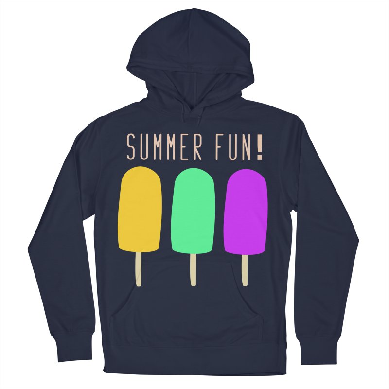 Summer Fun Popsicles Men's French Terry Pullover Hoody by denisegraphiste's Artist Shop