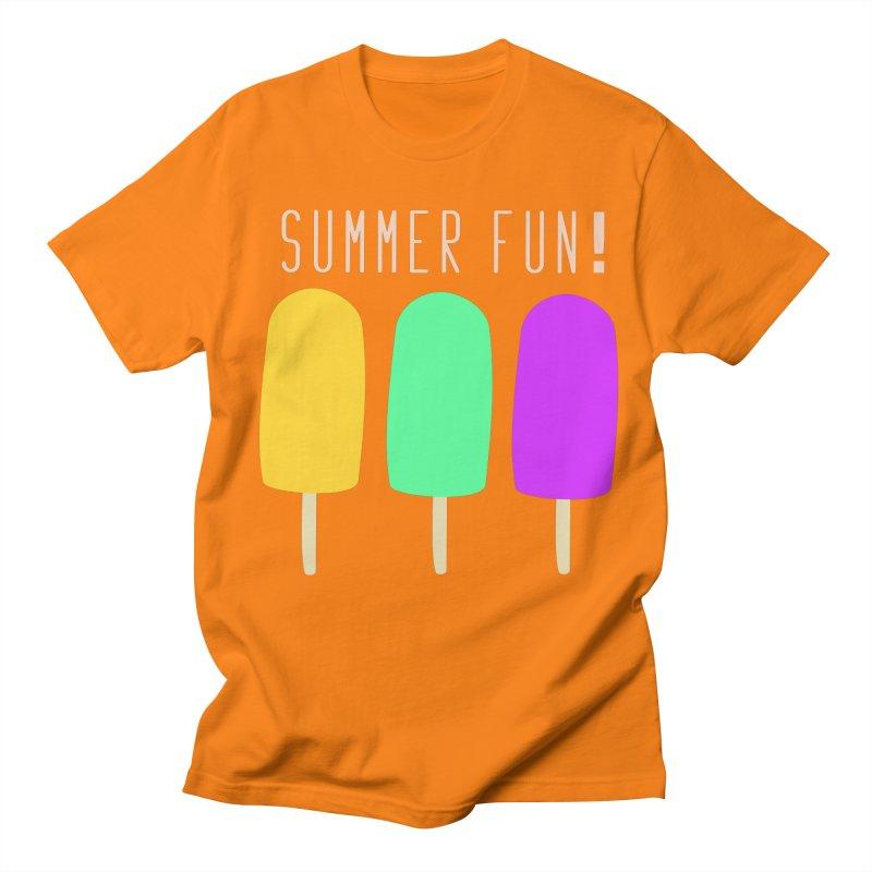 Summer Fun Popsicles Men's Regular T-Shirt by denisegraphiste's Artist Shop