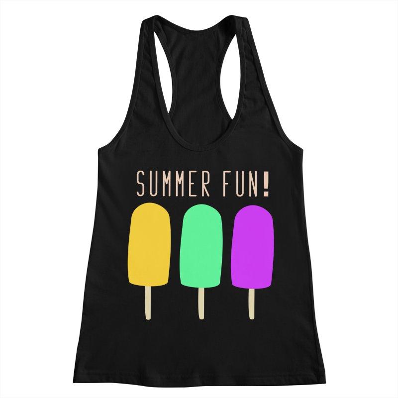 Summer Fun Popsicles Women's Racerback Tank by denisegraphiste's Artist Shop