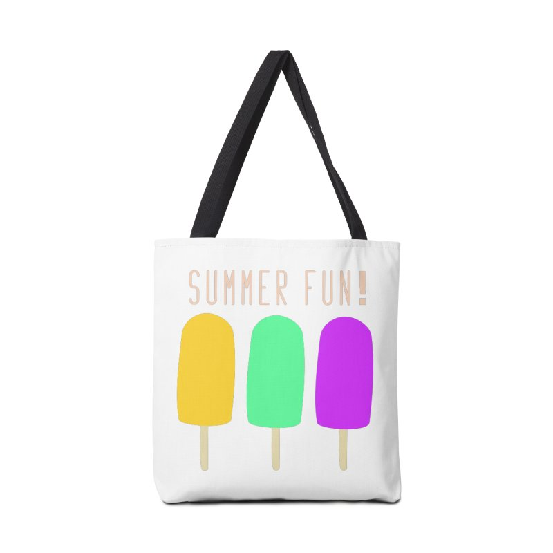 Summer Fun Popsicles Accessories Tote Bag Bag by denisegraphiste's Artist Shop