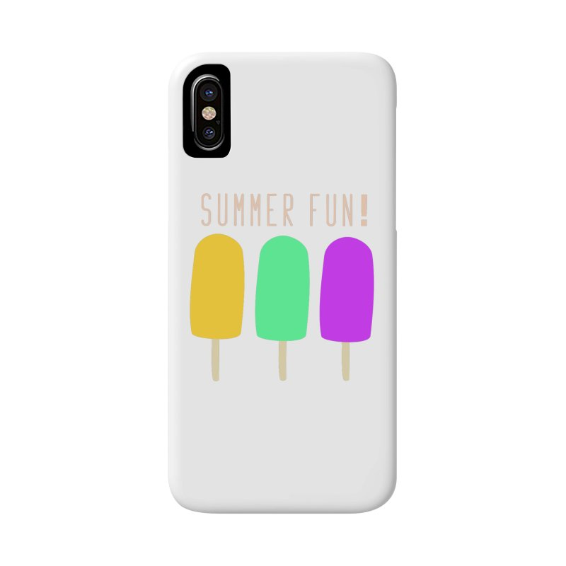 Summer Fun Popsicles Accessories Phone Case by denisegraphiste's Artist Shop