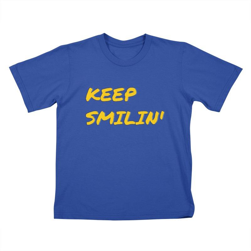 Keep Smilin' Kids T-Shirt by denisegraphiste's Artist Shop