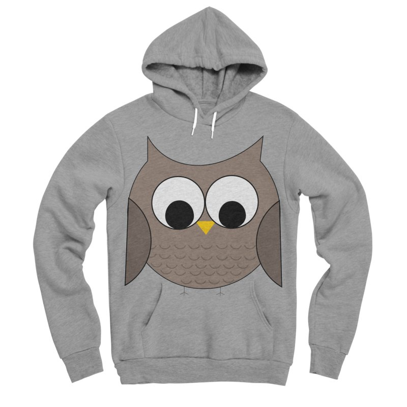 Owl in the Sky Women's Sponge Fleece Pullover Hoody by denisegraphiste's Artist Shop