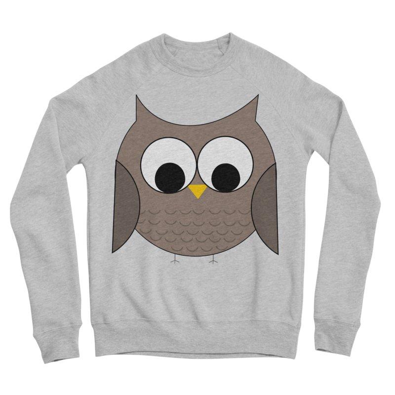 Owl in the Sky Men's Sponge Fleece Sweatshirt by denisegraphiste's Artist Shop